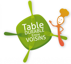 Table durable entre voisins