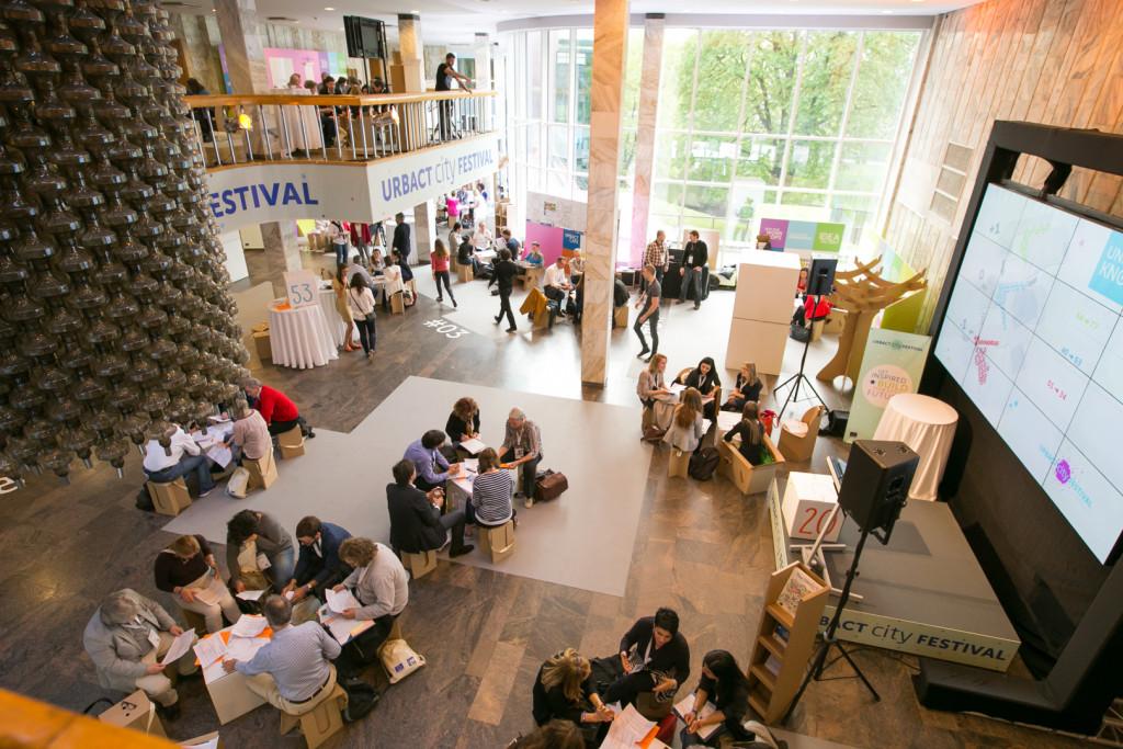 The Idea Factory at the Riga City Festival on 7 May 2015 ©URBACT