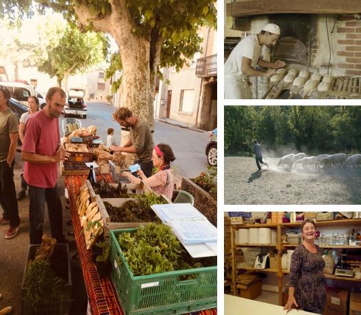 Vegetable boxes' scheme at Piegros-La-Clastre ©Eric Escande